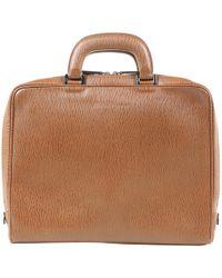 Ferragamo - Brown Leather Purses, Wallets & Cases - Lyst
