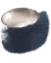Fendi - Pre-owned Blue Mink Bracelets - Lyst