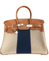 678480504b Hermès - Pre-owned Birkin 35 Camel Leather Handbags - Lyst