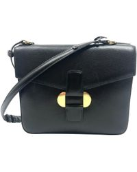 Delvaux - Leather Handbag - Lyst