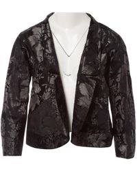 Vera Wang - Pre-owned Black Silk Jackets - Lyst