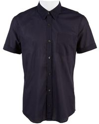 Dries Van Noten - Navy Cotton Shirts - Lyst