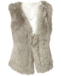 Zadig & Voltaire - Grey Fur Knitwear - Lyst