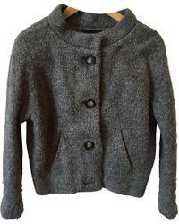 Isabel Marant - Pre-owned Grey Wool Jacket - Lyst