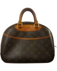 Louis Vuitton - Pre-owned Deauville Cloth Handbag - Lyst