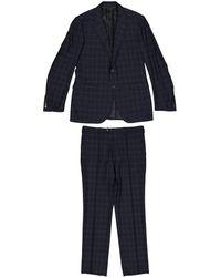Lanvin - Blue Wool - Lyst