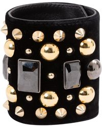 Givenchy - Pre-owned Navy Metal Bracelet - Lyst