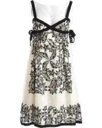 Anna Sui - Mini robe - Lyst