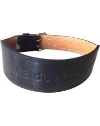 Comme des Garçons - Pre-owned Leather Belt - Lyst