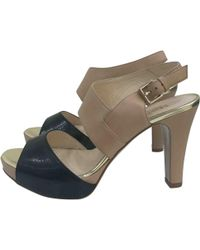 Max Mara - Pre-owned Leather Heels - Lyst