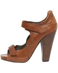 Barbara Bui - Pre-owned Beige Leather Heels - Lyst