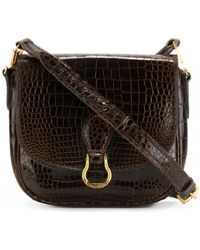 62a493db6ea13 Louis Vuitton Saint Cloud Cloth Crossbody Bag in Brown - Lyst