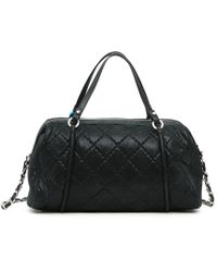 Chanel - Pre-owned Mademoiselle Leather Handbag - Lyst