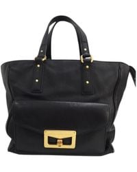 Marc By Marc Jacobs - 100% Authentic Bianca Hayley Black Leather Tote Handbag - Lyst