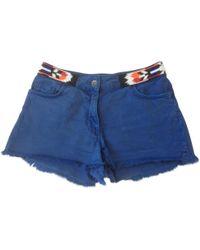 Sandro - Pre-owned Mini-shorts - Lyst