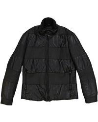 Maison Margiela - Black Polyester Coat - Lyst