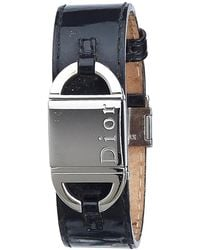 Dior - Pre-owned Black Steel Watches - Lyst