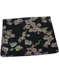 Dries Van Noten - Pre-owned Black Cloth Clutch Bags - Lyst