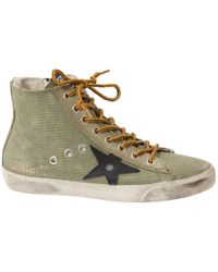 Golden Goose Deluxe Brand - Pre-owned Cloth Trainers - Lyst