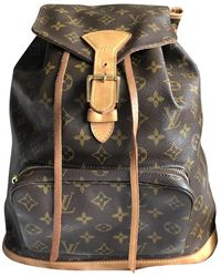 Louis Vuitton - Cloth Backpack - Lyst