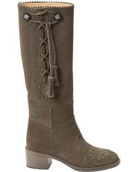 Chanel | Riding Boots | Lyst