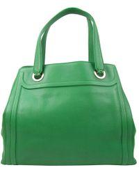 BVLGARI - Leather Handbag - Lyst
