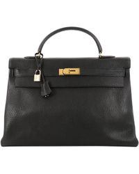 Hermès - Kelly 40 Leather Handbag - Lyst
