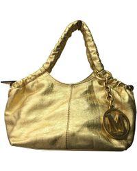 Missoni - Gold Leather Handbag - Lyst