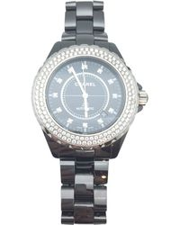 Chanel - Pre-owned J12 Automatique Ceramic Watch - Lyst