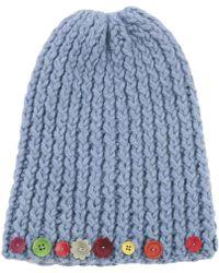 Marni - Blue Wool Hat - Lyst