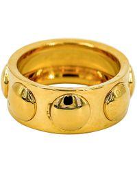 Louis Vuitton - Clous Gold Yellow Gold Ring - Lyst