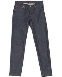A.P.C. - Pre-owned Slim Jeans - Lyst