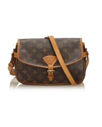 Louis Vuitton - Pre-owned Sologne Cloth Handbag - Lyst