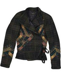 Isabel Marant - Khaki Wool Jacket - Lyst