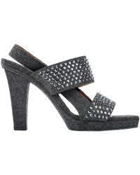 Marni - Cloth Heels - Lyst