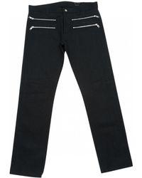 Marc Jacobs - Black Cotton Trousers - Lyst