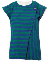 Dior - Pre-owned Green Cotton Top - Lyst