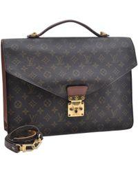 Louis Vuitton - Kourad Brown Cloth Bag - Lyst