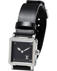 Louis Vuitton - Silver Steel Watch - Lyst
