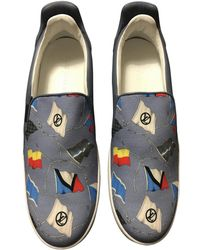 Louis Vuitton - Baskets basses en toile - Lyst