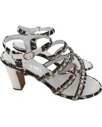 Chanel - Other Leather Sandals - Lyst