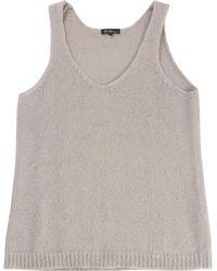 Étoile Isabel Marant - Pre-owned Grey Wool Top - Lyst