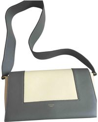 Céline - Pre-owned Frame Leather Handbag - Lyst