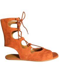 a975f3ee3cc7 Manolo Blahnik Primathi Gladiator Sandals in Brown - Lyst
