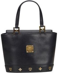 MCM - Leather Handbag - Lyst