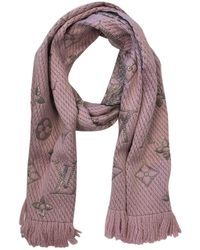 Louis Vuitton - Wool Scarf - Lyst