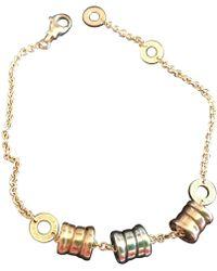 BVLGARI - B.zero1 Multicolour Yellow Gold Bracelets - Lyst