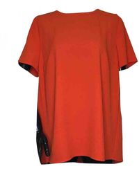 Michael Kors Red Polyester Top