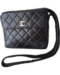 Chanel - Porté épaule en cuir - Lyst