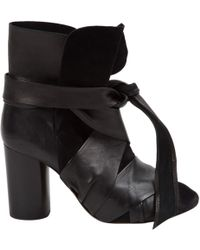 Isabel Marant - Pre-owned Black Suede Ankle Boots - Lyst